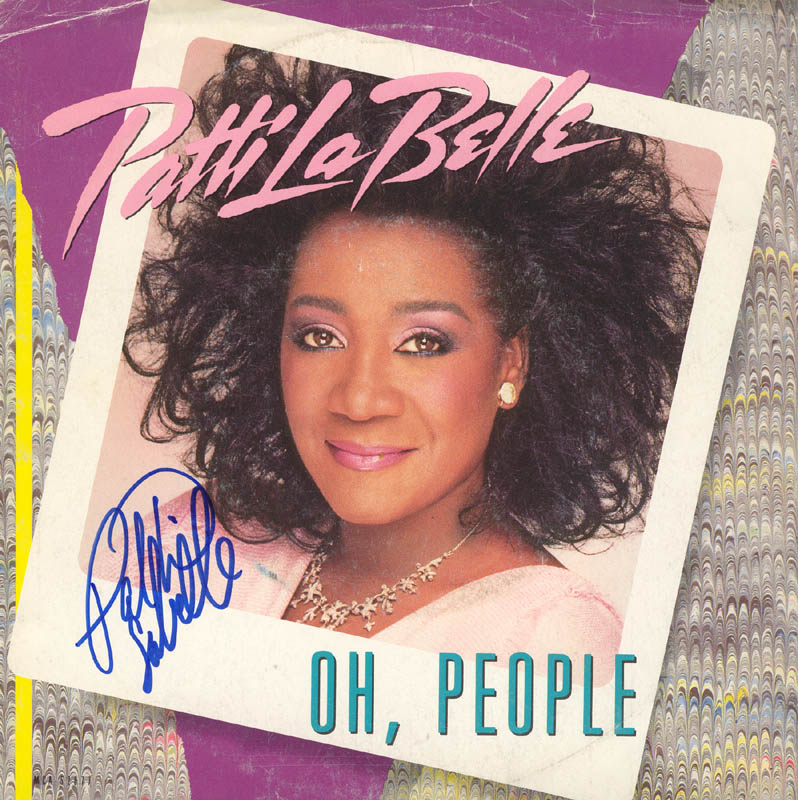 Image 1 for Patti Labelle - Record Cover Signed - HFSID 100116