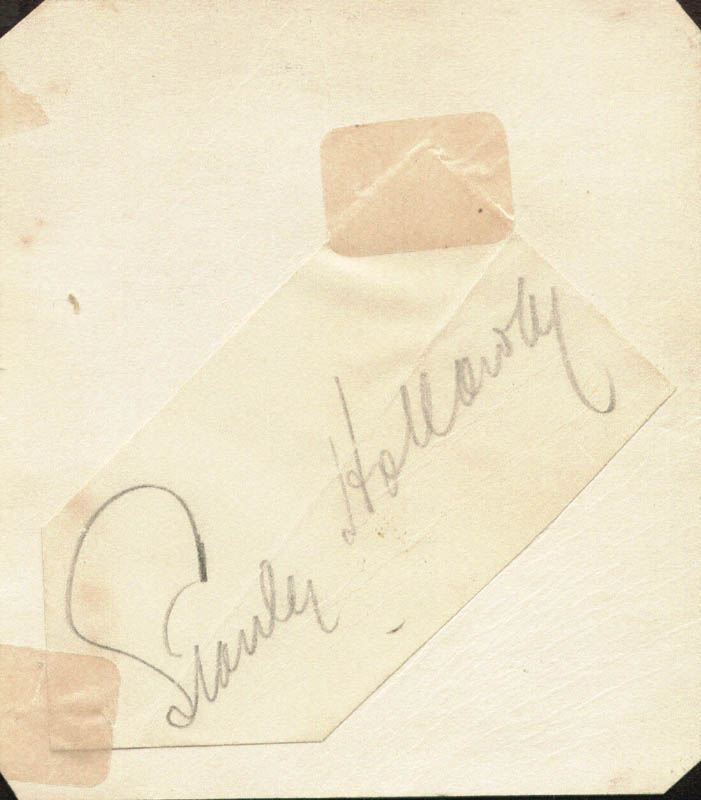 Image 1 for Stanley Holloway - Autograph - HFSID 100185