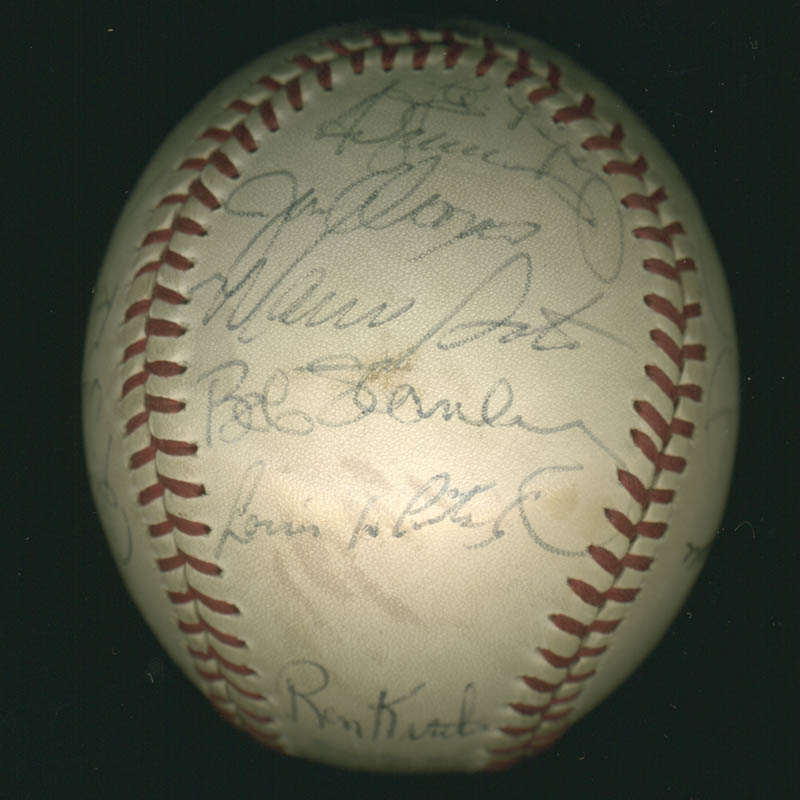 Image 6 for Lou Boudreau - Autographed Signed Baseball with co-signers - HFSID 100437