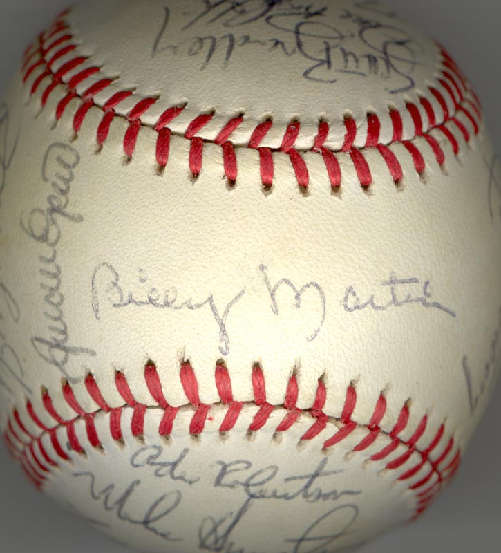 Image 1 for The New York Yankees - Autographed Signed Baseball Circa 1985 with co-signers - HFSID 100440