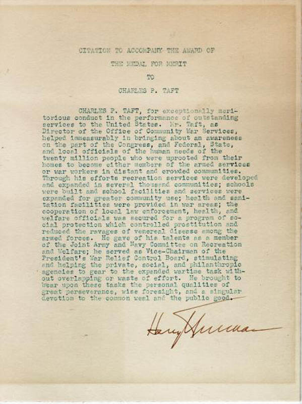 Image 1 for President Harry S Truman - Document Signed - HFSID 100848