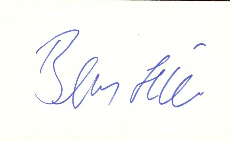 Image 1 for Benny Hill - Autograph - HFSID 100902