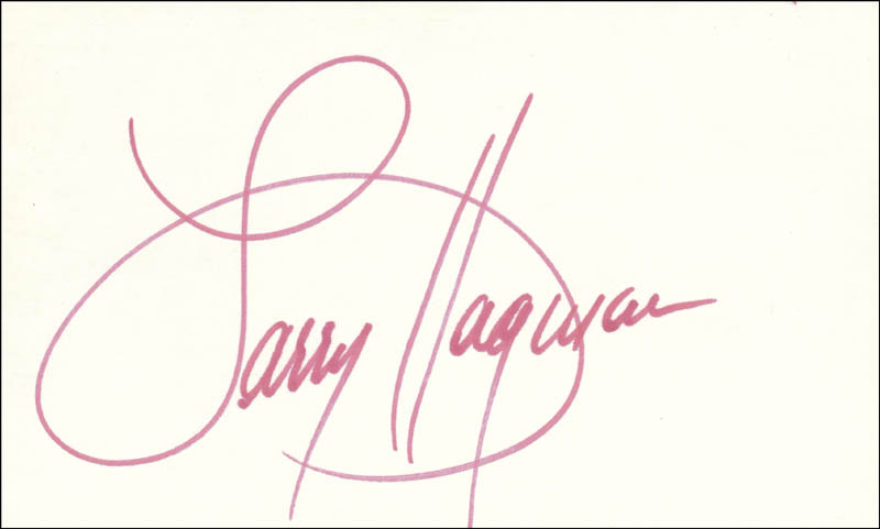 Image 1 for Larry Hagman - Autograph - HFSID 100948