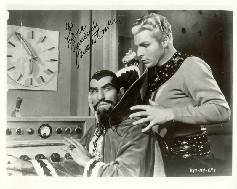Image 1 for Buster Crabbe - Autographed Inscribed Photograph - HFSID 101090