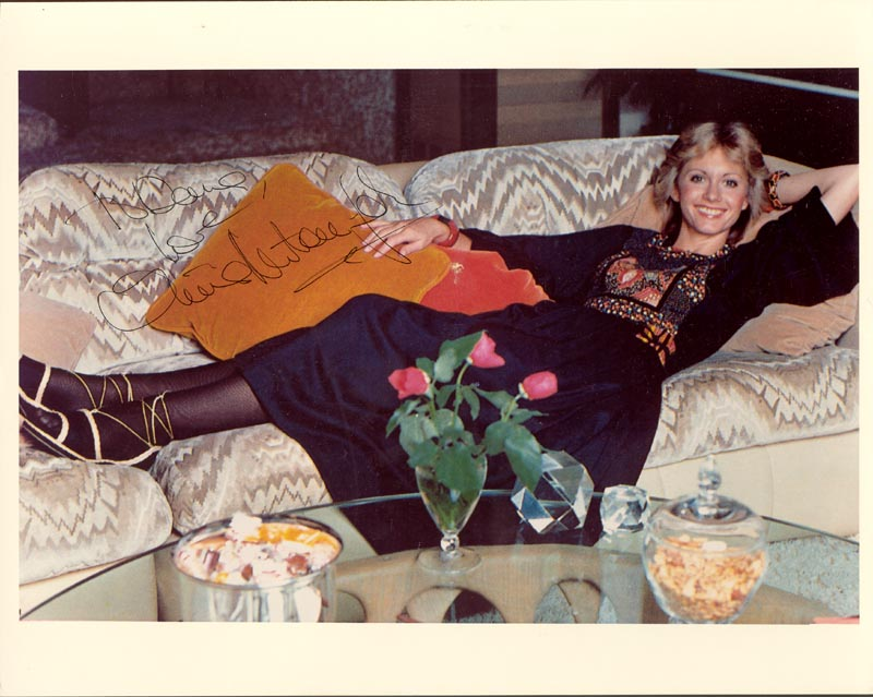Image 1 for Olivia Newton-john - Autographed Inscribed Photograph - HFSID 101093