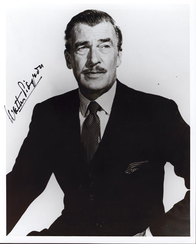 Image 1 for Walter Pidgeon - Autographed Signed Photograph - HFSID 101145