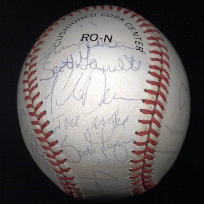 Image 3 for The San Francisco Giants - Autographed Signed Baseball Circa 1985 with co-signers - HFSID 101200