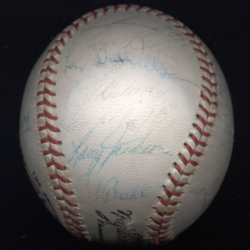 Image 5 for The Chicago Cubs - Autographed Signed Baseball with co-signers - HFSID 101215