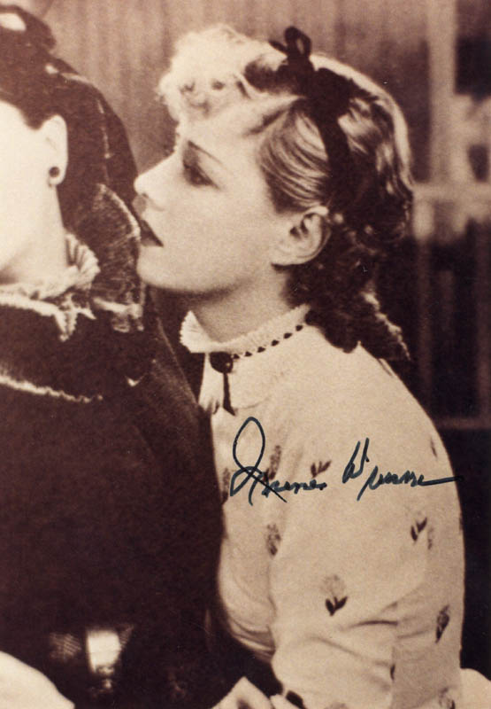 Image 1 for Irene Dunne - Autographed Signed Photograph - HFSID 101358