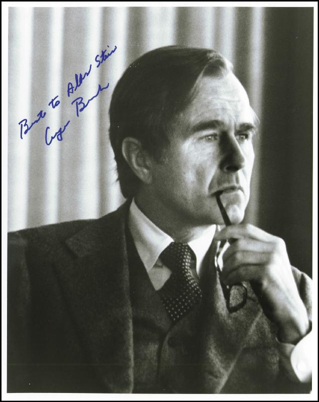 Image 1 for President George H.W. Bush - Autographed Inscribed Photograph - HFSID 101408