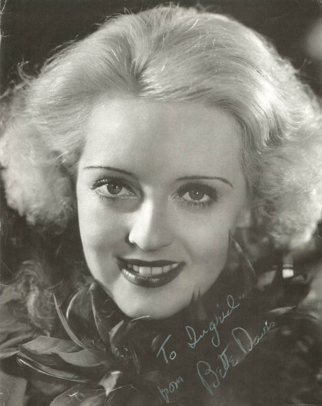Image 1 for Bette Davis - Inscribed Magazine Photo Signed - HFSID 101808