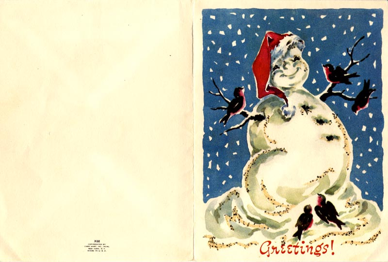 Image 3 for Estelle Taylor - Christmas / Holiday Card Signed 12/20/1950 - HFSID 102002