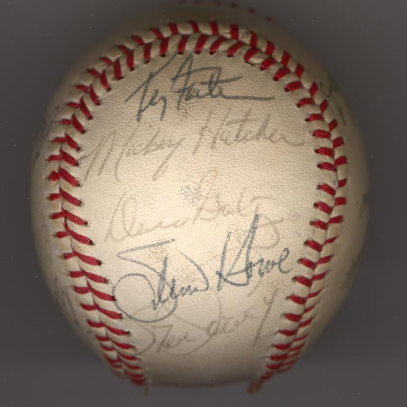 Image 4 for The Los Angeles Dodgers - Autographed Signed Baseball Circa 1981 with co-signers - HFSID 102135