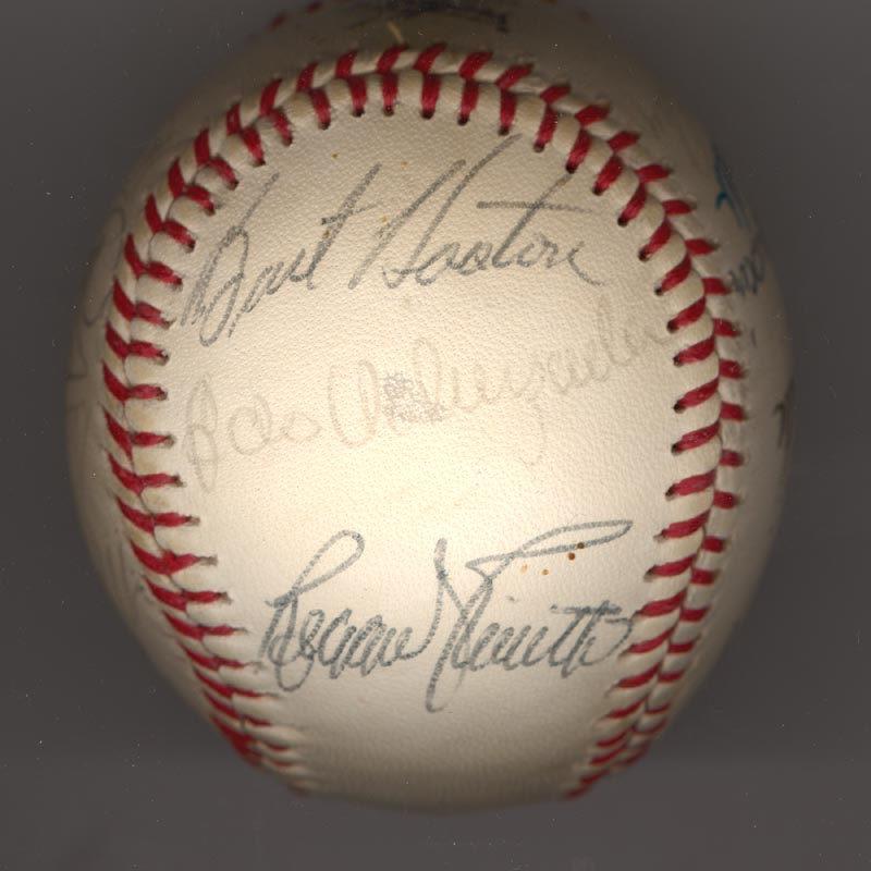 Image 6 for The Los Angeles Dodgers - Autographed Signed Baseball Circa 1981 with co-signers - HFSID 102135