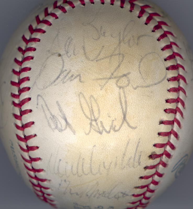 Image 1 for The California Angels - Autographed Signed Baseball 1979 with co-signers - HFSID 102140