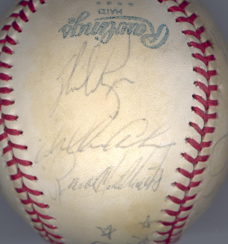 Image 5 for The California Angels - Autographed Signed Baseball 1979 with co-signers - HFSID 102140