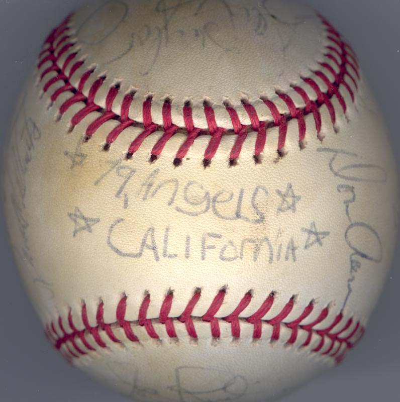 Image 6 for The California Angels - Autographed Signed Baseball 1979 with co-signers - HFSID 102140
