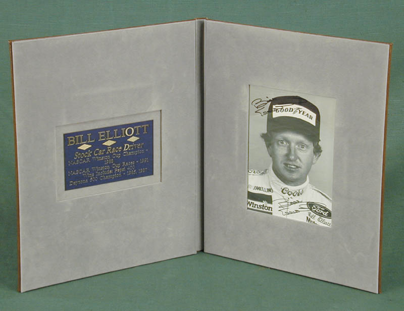 Image 1 for Bill 'Million Dollar Bill' Elliott - Autographed Signed Photograph - HFSID 102321