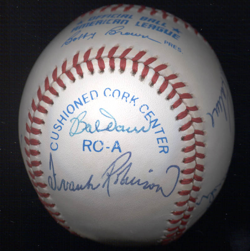 Image 3 for Al 'Mr. Tiger' Kaline - Autographed Signed Baseball with co-signers - HFSID 102349