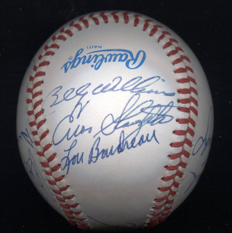 Image 4 for Al 'Mr. Tiger' Kaline - Autographed Signed Baseball with co-signers - HFSID 102349