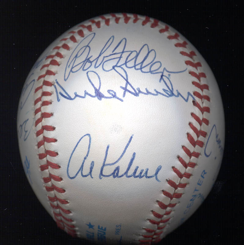 Image 5 for Al 'Mr. Tiger' Kaline - Autographed Signed Baseball with co-signers - HFSID 102349