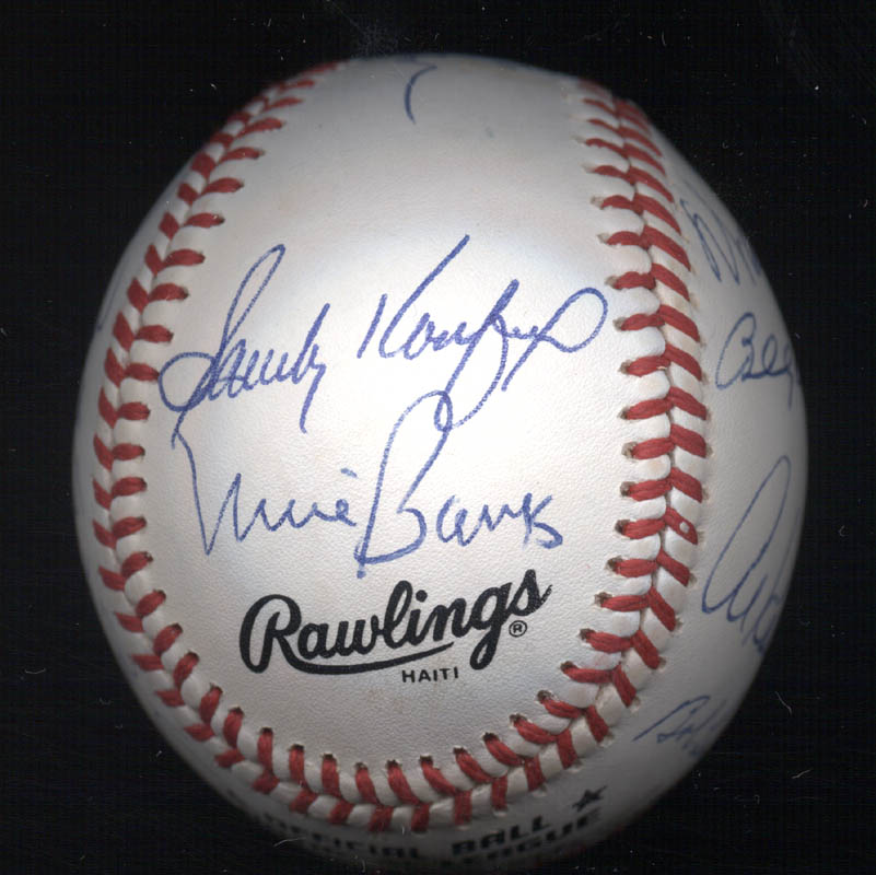 Image 4 for Duke Snider - Autographed Signed Baseball with co-signers - HFSID 102356