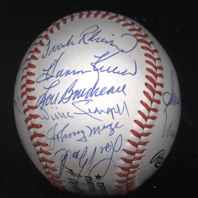 Image 6 for Duke Snider - Autographed Signed Baseball with co-signers - HFSID 102356
