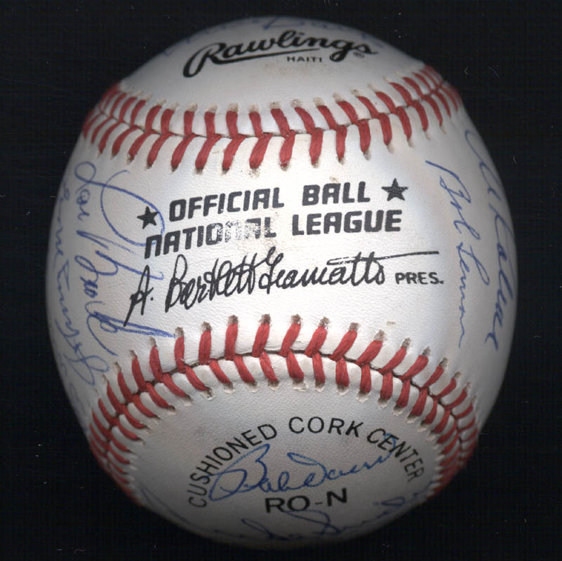 Image 7 for Duke Snider - Autographed Signed Baseball with co-signers - HFSID 102356