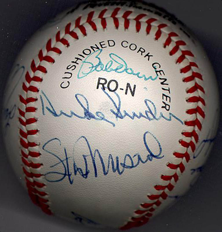 Image 3 for Bobby Doerr - Autographed Signed Baseball with co-signers - HFSID 102362