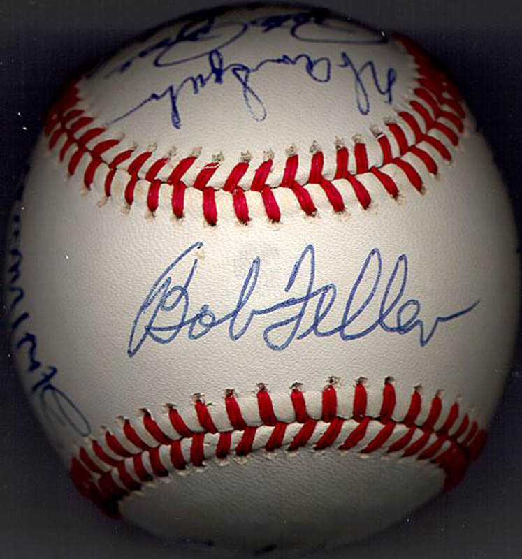 Image 4 for Bobby Doerr - Autographed Signed Baseball with co-signers - HFSID 102362