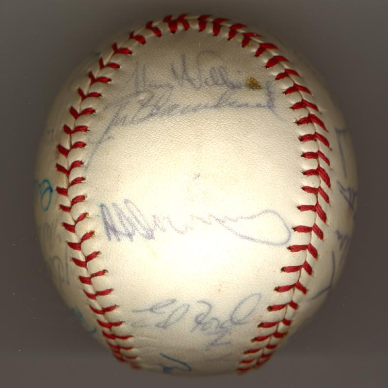 Image 6 for The New York Yankees - Autographed Signed Baseball Circa 1964 with co-signers - HFSID 102550