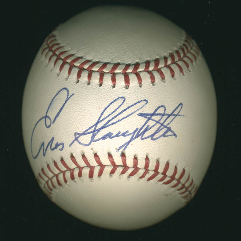 Image 1 for Enos Slaughter - Autographed Signed Baseball - HFSID 113219