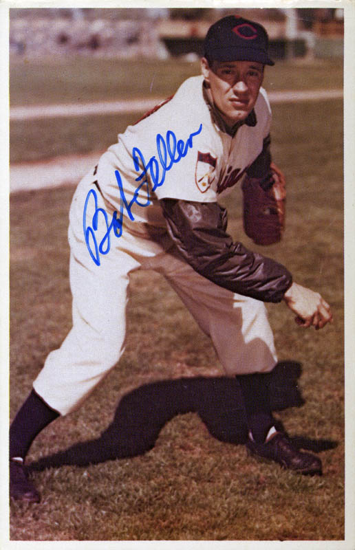 Image 1 for Bob Feller - Trading/Sports Card Signed - HFSID 113839