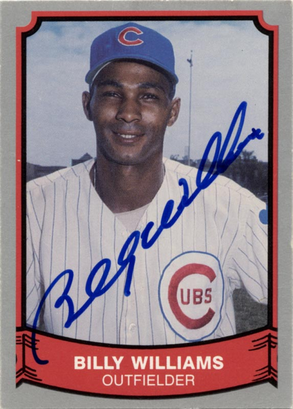 Image 1 for Billy Williams - Trading/Sports Card Signed - HFSID 113941