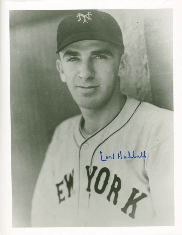 Image 1 for Carl Hubbell - Autographed Signed Photograph - HFSID 114448