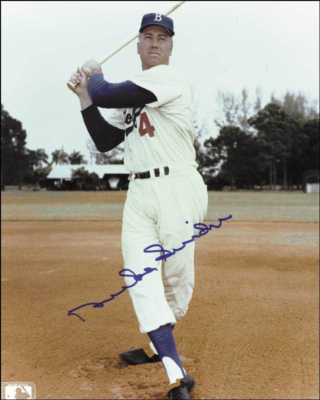 Image 1 for Duke Snider - Autographed Signed Photograph - HFSID 114658