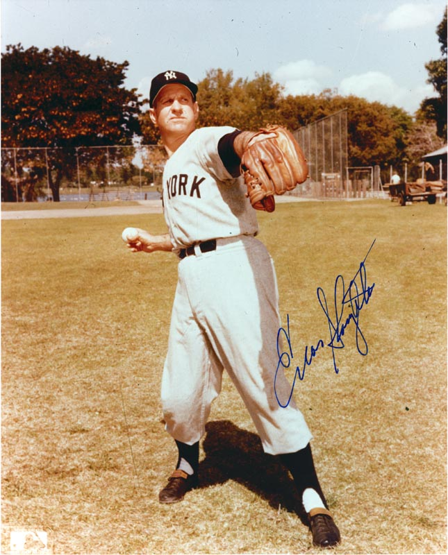 Image 1 for Enos Slaughter - Autographed Signed Photograph - HFSID 114720