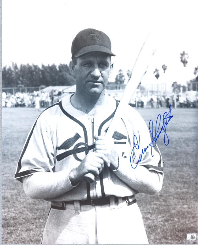Image 1 for Enos Slaughter - Autographed Signed Photograph - HFSID 114731