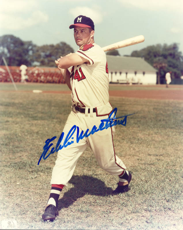 Image 1 for Eddie Mathews - Autographed Signed Photograph - HFSID 114794