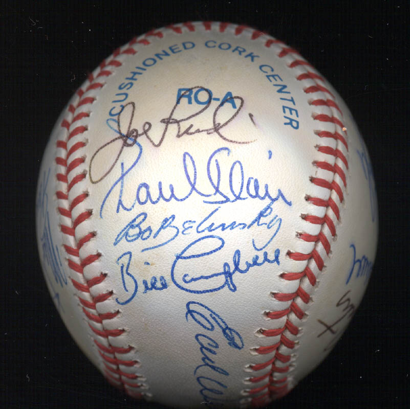 Image 3 for Bobby Bonds - Autographed Signed Baseball with co-signers - HFSID 117537