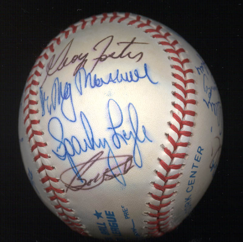 Image 5 for Bobby Bonds - Autographed Signed Baseball with co-signers - HFSID 117537