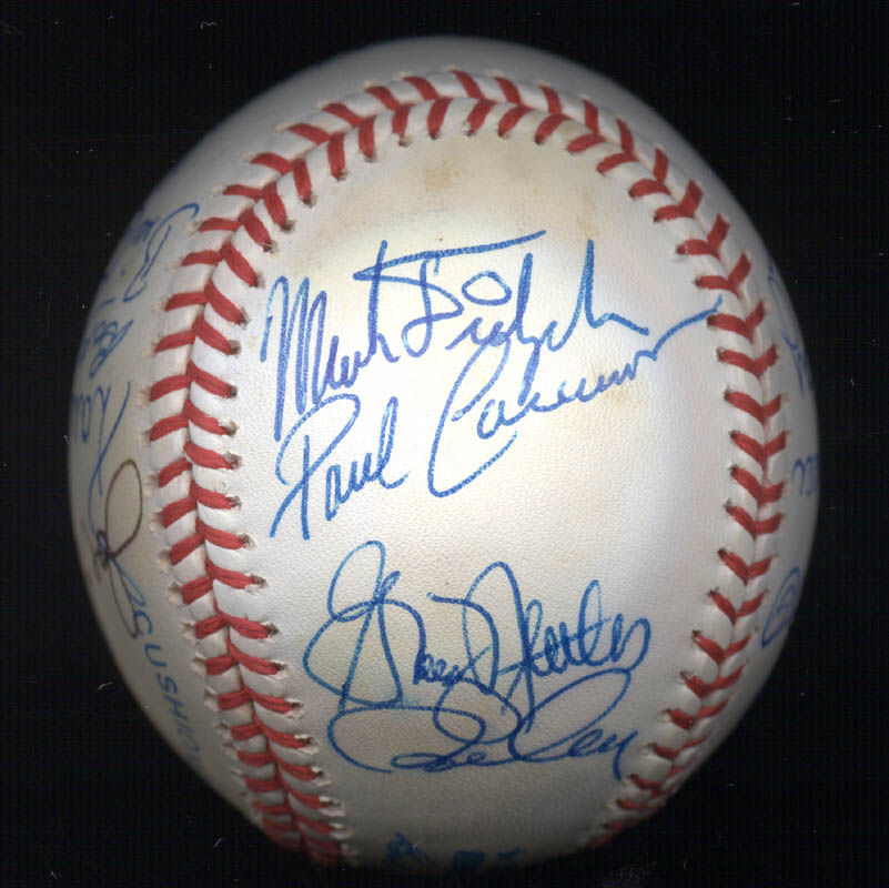Image 6 for Bobby Bonds - Autographed Signed Baseball with co-signers - HFSID 117537