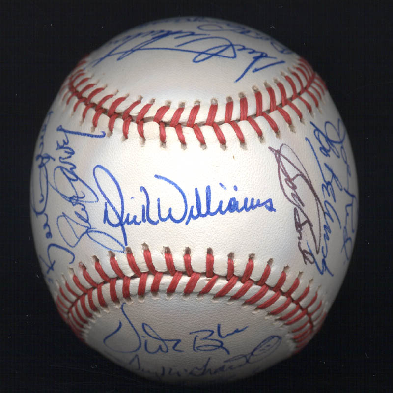 Image 1 for Kent 'Teke' Tekulve - Autographed Signed Baseball with co-signers - HFSID 117548