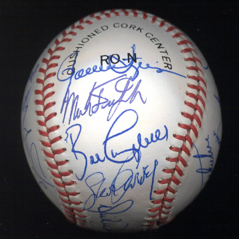 Image 3 for Kent 'Teke' Tekulve - Autographed Signed Baseball with co-signers - HFSID 117548