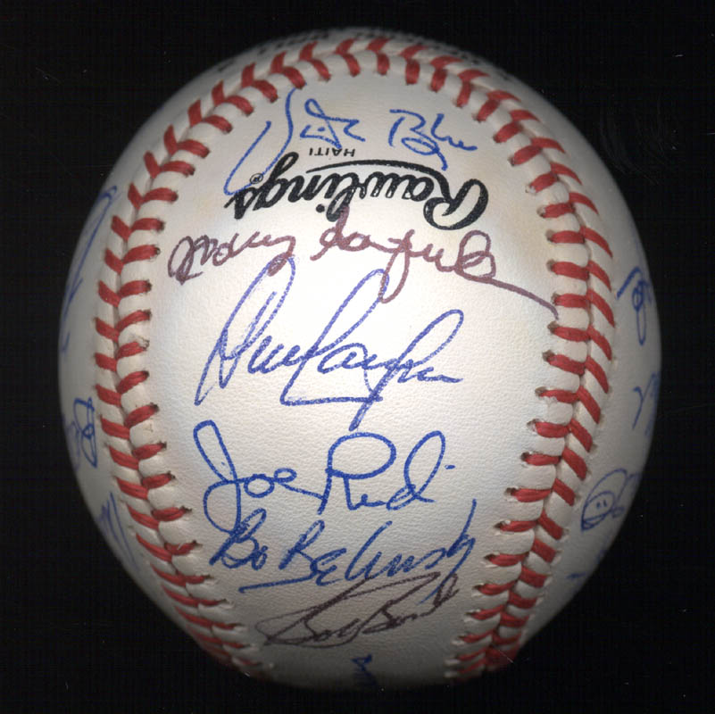 Image 4 for Kent 'Teke' Tekulve - Autographed Signed Baseball with co-signers - HFSID 117548