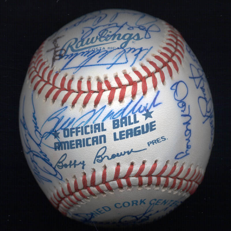 Image 7 for Kent 'Teke' Tekulve - Autographed Signed Baseball with co-signers - HFSID 117550