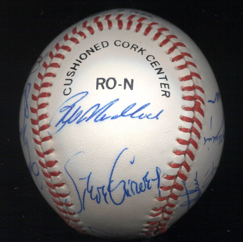 Image 3 for Bobby Bonds - Autographed Signed Baseball with co-signers - HFSID 117552