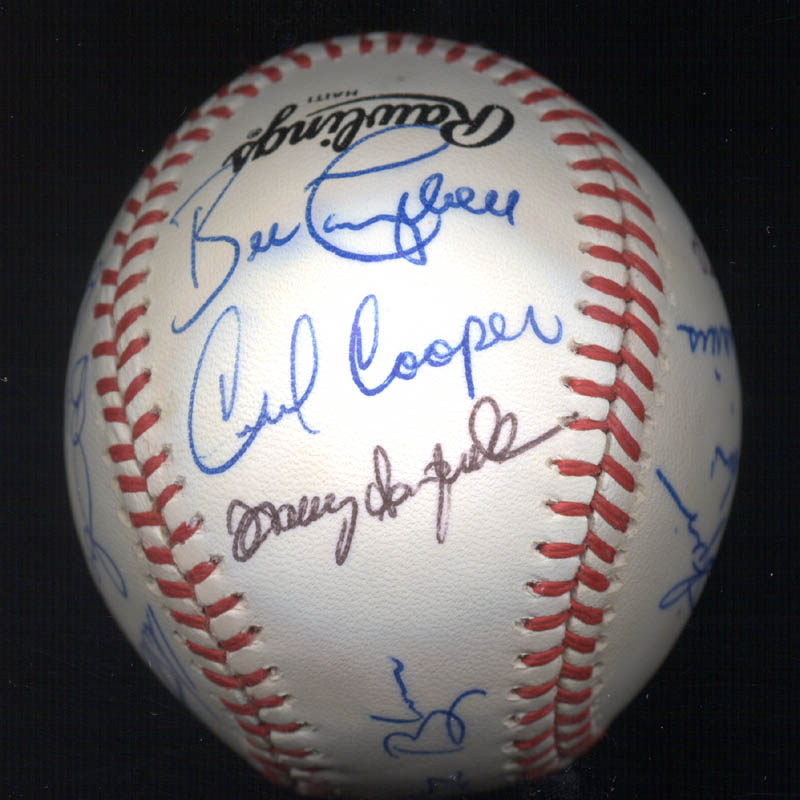 Image 4 for Bobby Bonds - Autographed Signed Baseball with co-signers - HFSID 117552