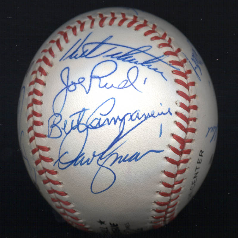 Image 5 for Bobby Bonds - Autographed Signed Baseball with co-signers - HFSID 117552