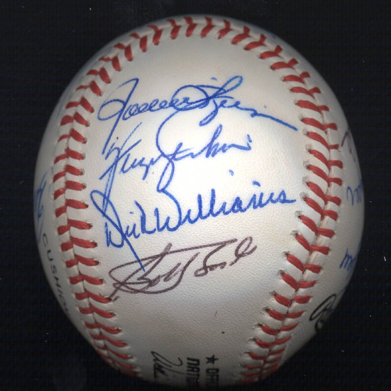 Image 6 for Bobby Bonds - Autographed Signed Baseball with co-signers - HFSID 117552